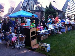 Eastmoreland garage sale 2009