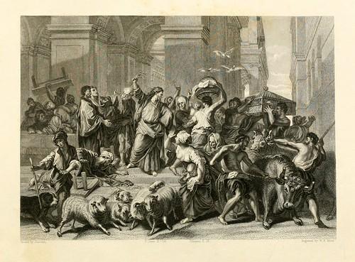 005- Los profanadores expulsados del Templo- Jouvenet