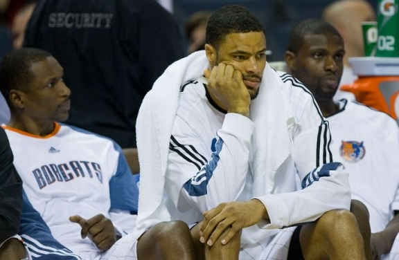 sad bobcats bench
