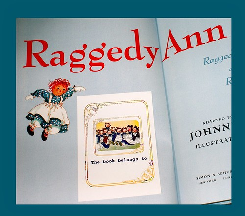 Raggedy Ann Bookplates