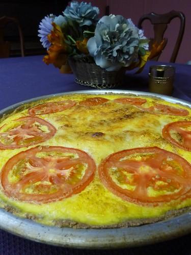 food corn tomatoes recipes quiche 2010 tef