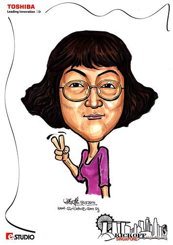 Caricature of GW