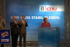 Angela Merkel Speech 4 (WrldVoyagr) Tags: germany deutschland politics rally north cdu angie nrw chancellor angela elections campaign bielefeld merkel angelamerkel northrhinewestphalia politicalrally rhinewestphalia bundeskanzlerin