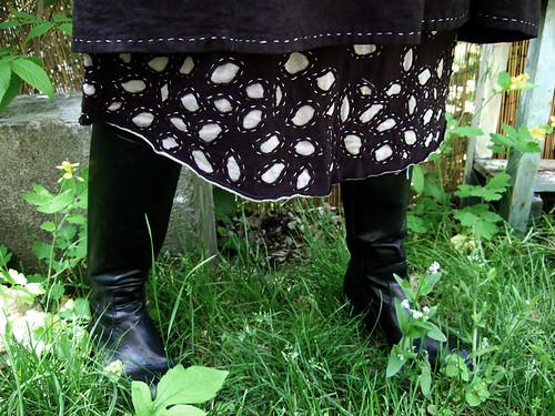 Alabama Chanin Style Skirt