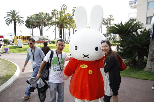 Ming Jin and Tomoko with Miffy