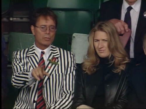 Sir Cliff Richard and Steffi Graf