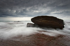 Another Bungan Angle (Tim Donnelly (TimboDon)) Tags: ocean seascape storm sunrise canon australia nsw waterscape cokin bungan