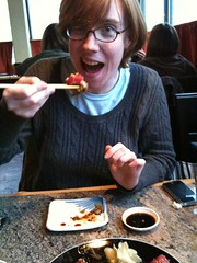 Joy in Eating Sushi Shocker!