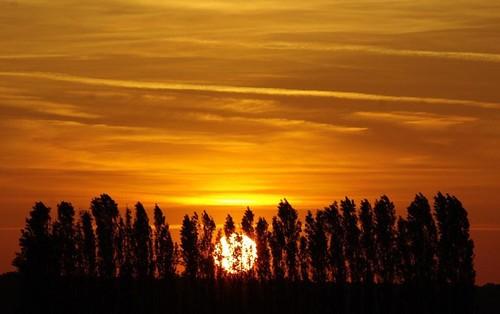 Soleil couchant du 22 mai.