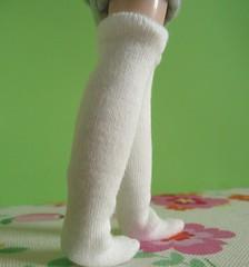White socks for Blythe