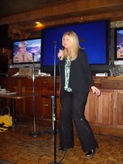 Gwen Stefani or Barbara Jones? (zaellen) Tags: karaoke barbarajones cwc09