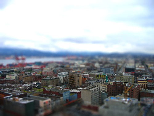 Miniature Downtown Eastside (credit: joannaforever on flickr)