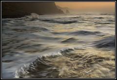 Turbulent Waters (jpeder55) Tags: ocean sunset beach oregon canon landscape coast scenery waves pacific xsi 1635