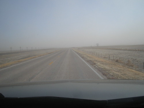 Nebraska was very dusty