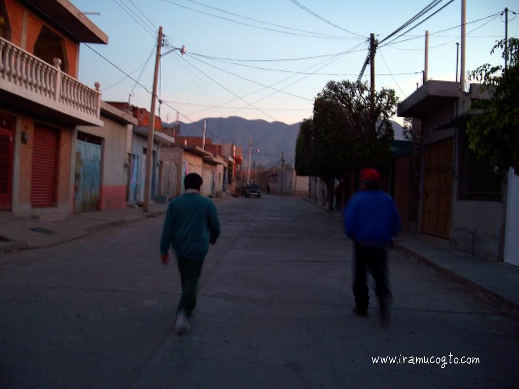 Calle Juarez de Iramuco