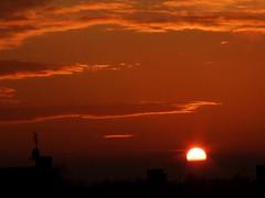 6 steps to sunset/ 3rd step (agrolka) Tags: world sunset sky orange art nature beauty lights landscapes colours shadows poland simply szczecin kartpostal fujifinepixs6500fd