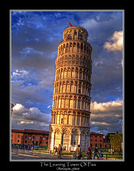The Leaning Tower Of Pisa, Italy (Suvrangshu) Tags: travel tower interestingness europe pisa explore suv leaning hdr the olymous theleaningtowerofpisa specialtouch italytower suvrangshughosh