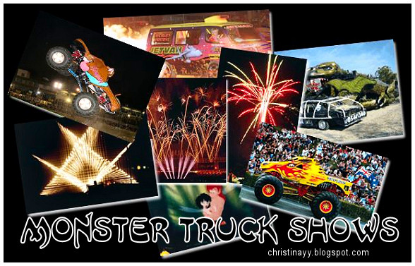 Toowoomba's Monster Truck Shows 2009
