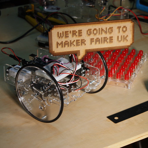 Otis is going to Maker Faire