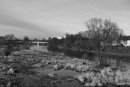 Die Ruhr in Schwarz-Weiß