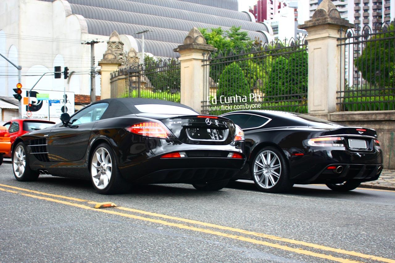 SLR & Aston Martin DBS