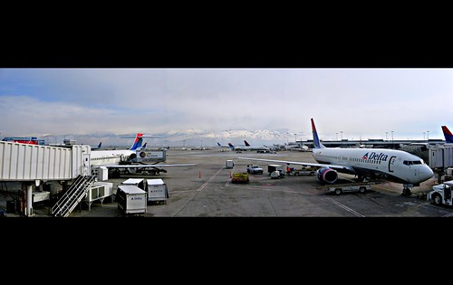 Salt Lake City Airport Panorama