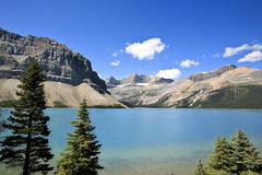 Bow Lake (Liz Faulkner) Tags: road blue summer fab sky canada mountains nature water field clouds rockies golden waterfall amazing cabin scenery jasper skies britishcolumbia turquoise scenic wideangle canoe glacier alberta bow banff gondola wilderness transcanadahighway lakelouise breathtaking fairmont revelstoke athabascafalls rogerspass sulphurmountain athabasca stewartcanyon banffnationalpark crazycreek lakeminnewanka morainelake columbiaicefield icefieldsparkway bowlake athabascaglacier 1635mm takakkawfalls vermillionlake crowfootglacier johnsonlake maralake mountnorquay threevalleygap spiraltunnels endlesschain worldwidelandscapes natureselegantshots absolutelystunningscapes panoramafotogrfico thebestofmimamorsgroups greatshotss diffanglephoto constellationlake copyrightelizabethfaulknerdiffanglephotolrps