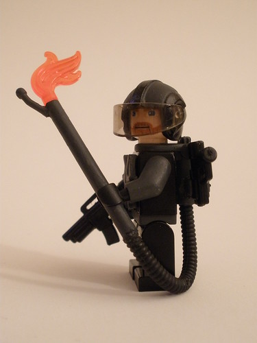Bloktian Scourge Trooper custom minifig