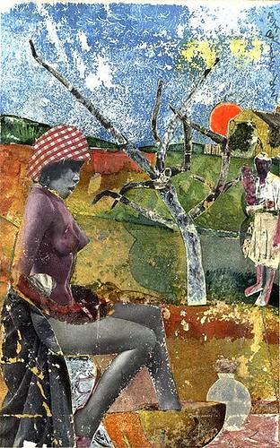 Bearden Romare (1911-1988) - 1970 The Calabash