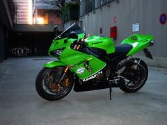 NINJA (Alberto Luppichini) Tags: 2005 2003 new green sport monster mono team energy ninja 05 2006 replica nakano 06 kawasaki fuchs posto zx6r sbk 636
