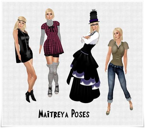 maytreia poses