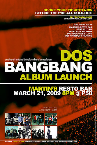 BANGBANG DOS Compilation Album Launching Poster