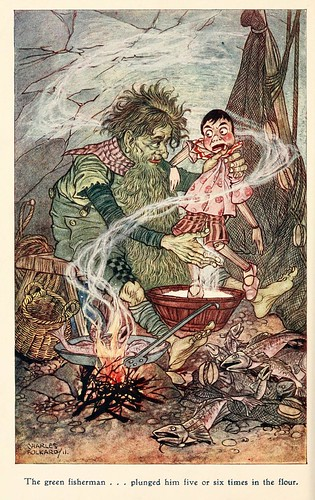 023-Charles Folkard- Pinocchio the tale of a puppet -1911