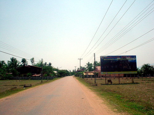28.Champasak唯一主要幹道