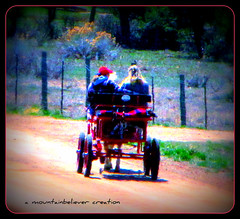 Buggy Ride! (mountainbeliever) Tags: life west fun outdoors living perfect san colorado ride friendship country sunday riding western horsedrawn roads carts buggies fourcorners juans horseandbuggy laplata southwestcolorado onwheels afternoonride mountainscountry