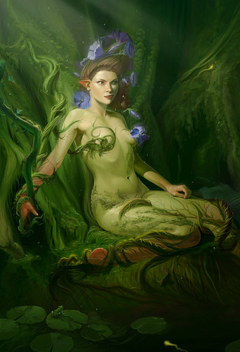 Dryad (detail) by Andrew Hibner