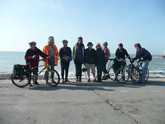 April 6, 2009: Clarion bike ride, Isle of Wight