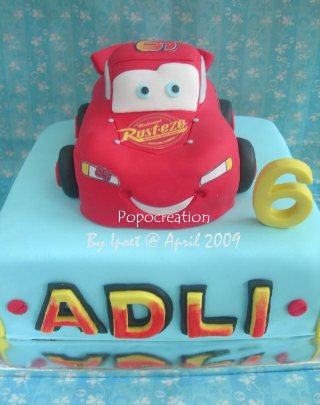 McQueen Cake for ADLI