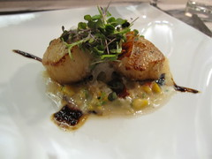 one flew south - bbq scallop 1