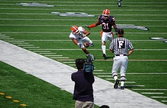 another dropped pass by number 10 (Johnny Heger) Tags: college campus illinois spring universityofillinois urbana champaign uofi chipsi