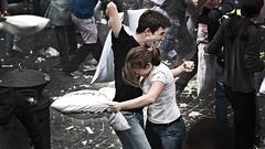 Roman Pillow Fight IV - Make love through soft war! (ctulu) Tags: love fight roman pillow iv makelovenotwar