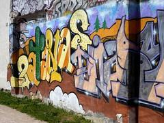 StreetArt, Paris, France (balavenise) Tags: streetart paris france art wall publicspace graffiti mural artist belleville tag urbanart mur arteurbano artdelarue arturbain ephemere artedecalle ruedenoyez denoyez artsauvage efemero flickrgiants