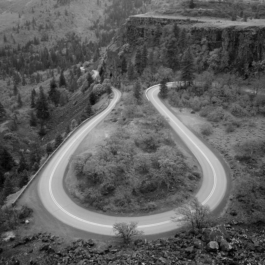 Rowena Crest, Old US-30, Oregon