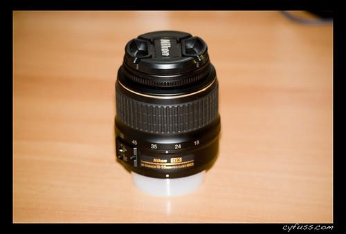 Objetivo Nikon 18-35mm