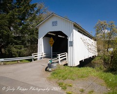 Parvin Covered Bridge (RU4SUN2) Tags: history oregon coveredbridges lanecounty kissingbridge howetruss lanecountyoregon oregoncoveredbridges lanecountycoveredbridges