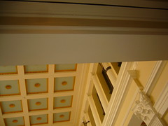 getty villa coffered ceiling