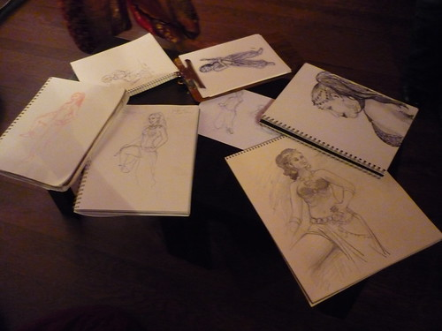 Dr Sketchy's Anti Art School at Tatame in Winter Park