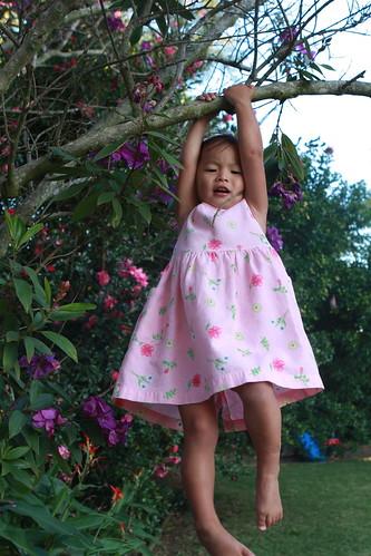 Tia hanging