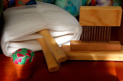 Hand Carders and combs from Sarah