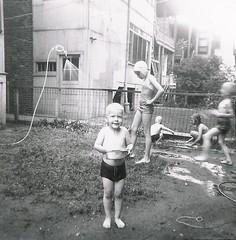 Neighborhood fun (NW Chicago Historical Society) Tags: park old blackandwhite bw chicago nw northwest historic jefferson portage